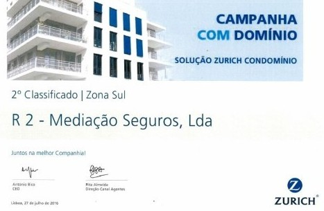 2º place|South Zone in CAMPANHA COM DOMÍNIO
